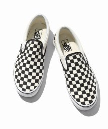 EDIFICE/VANS SLIP ON CHECKER/501624377