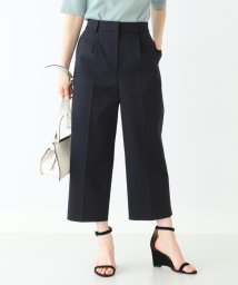 BEAMS OUTLET/【洗える】Demi-Luxe BEAMS / タック ワイドパンツ/501570806