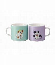 En Fance/ペアマグカップ 猫天使と猫デビル/501590059