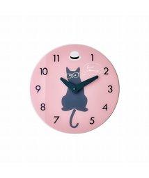 En Fance/壁掛け時計 Little Dancers ピンク/501590119