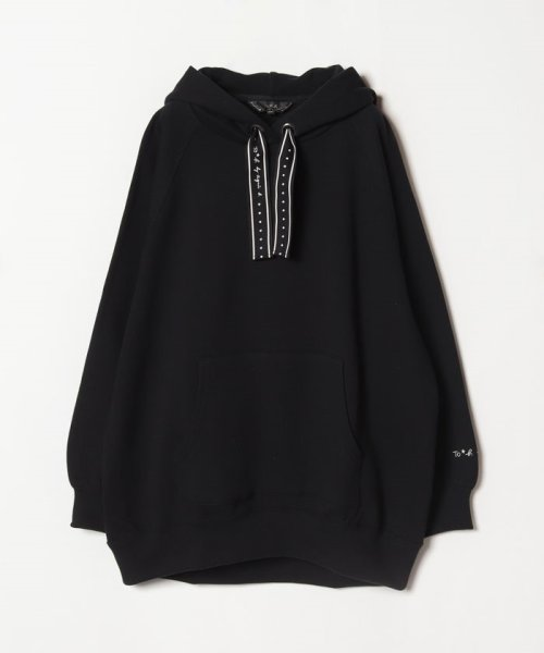 To b. by agnes b.(トゥービー バイ アニエスベー)/WL96 HOODIE ロゴテープパーカー/4505WL96E19