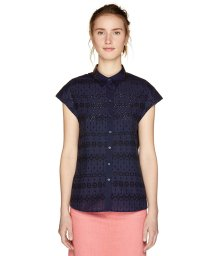 BENETTON (women)/フレンチスリーブボーラー刺繍ブラウス・シャツ/501615602