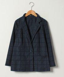 LAPINE ROUGE/【大きいサイズ】ハイカウントブロードレース刺繍ジャケット/501615674