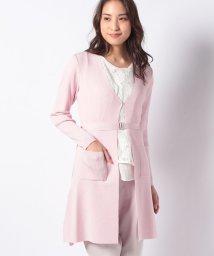 JOCONDE ROYAL/ARINA リブ編みカーディガン/501615693