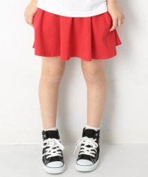 devirock/キッズ 子供服 『ヒナタ』着用アイテム ポケット付き 無地1分丈スカッツ スカート 女の子/501621852
