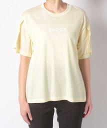 ZUCCa/(S)スリーブスリットTシャツ/501623284