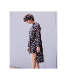 REDYAZEL/オリジナルフラワーバックリボンワンピース/501524660