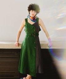 REDYAZEL/レトロバックルジャンパースカート/501570427