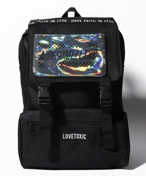 Lovetoxic(ラブトキシック)/メッシュフラップポーチつきデイパック/8391440