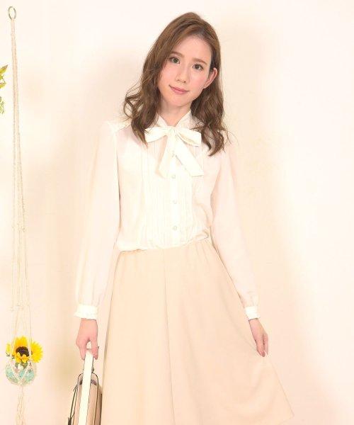 Dear Princess(ディアプリンセス)/フェニッシュデシン広巾ブラウス/3081048
