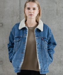 LEVI'S LADY/EX-BF SHERPA TRUCKER ADDICTED TO LOVE/501622845