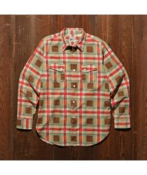Levi's/LEVI'S ロデオシャツ BROWN CHECK PRINT/501627772