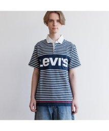 Levi's/MIGHTY ラグビーポロシャツ SPLISH/501627791