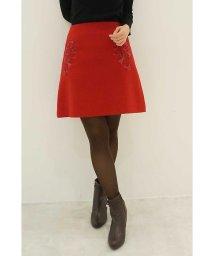 PROPORTION BODY DRESSING/フラワー刺繍カラーミニスカート/501646358