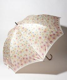 LANVIN en Bleu(umbrella)/LANVIN en Blue 婦人 長傘 【耐風】 プリント 花柄/501648004
