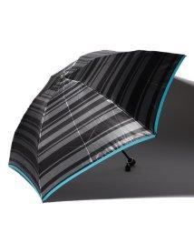LANVIN en Bleu(umbrella)/LANVIN en Blue 婦人 ミニ傘 ボーダー/501648007