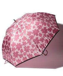 LANVIN en Bleu(umbrella)/LANVIN en Blue 婦人 長傘 【耐風】 影花/501648008
