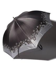 LANVIN en Bleu(umbrella)/LANVIN en Blue 婦人 長傘 【耐風】 すそ 花/501648010