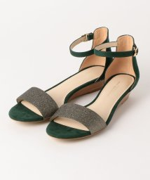 green label relaxing/◆FFC グリッター ウェッジ サンダル(3cmヒール)/501681465