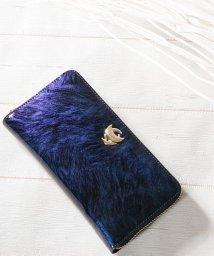 Clelia/財布 レディース 長財布 ラウンドファスナー エナメル 大容量 カードケース付き ロングウォレット/501681471