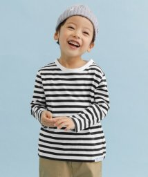 URBAN RESEARCH DOORS(Kids)/FORK&SPOON ボーダーロングスリーブTシャツ(KIDS)/501682080