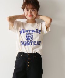 Spick & Span/≪予約≫【MIXTA】Tシャツ (TABBY CAT 19)◆/501682194