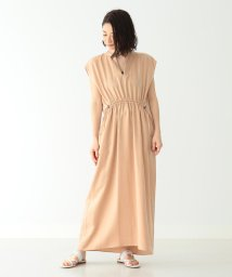 Demi-Luxe BEAMS/【洗える】Demi-Luxe BEAMS / フロントギャザーワンピース/501568872