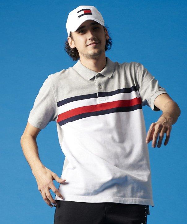 【オンライン限定】フラッグラインポロシャツ