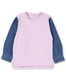 branshes/デニム袖長袖Tシャツ/501615803