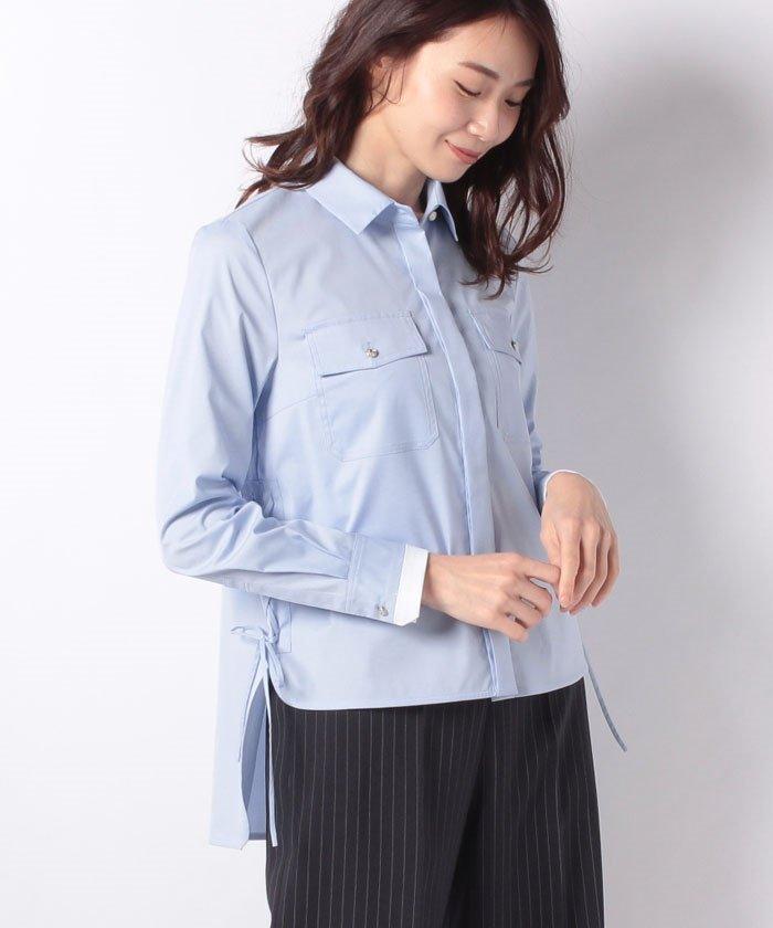 【洗える】ストレッチブロードシャツ
