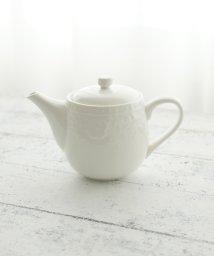 Afternoon Tea LIVING/フラワーレリーフ茶漉し付きティーポット/501623025