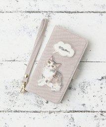 Afternoon Tea LIVING/キャット刺繍ブック型iPhone8/7/6/6sケース/501623084