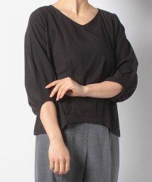 Eimy Peal by POWDER SUGAR/裾タックバルーン袖ブラウス/501623494
