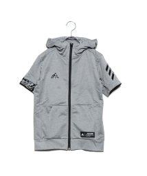 adidas/アディダス adidas ジュニア 野球 アウターウェア 5T 半袖スウェットJr DU9563/501636180