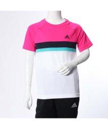 adidas/アディダス adidas ジュニア テニス 半袖Tシャツ BOYSCLUBC/BTEE DH2776 (ピンク)/501639319