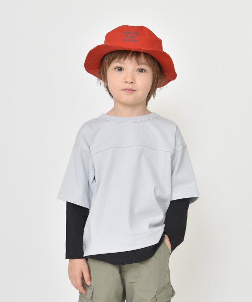 branshes(ブランシェス)/重ね着風長袖Tシャツ(80~150cm)/119105383