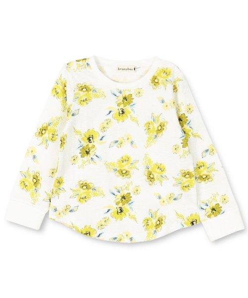 branshes(ブランシェス)/花柄長袖Tシャツ(80~150cm)/129105088