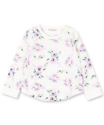 branshes/花柄長袖Tシャツ(80~150cm)/501680848