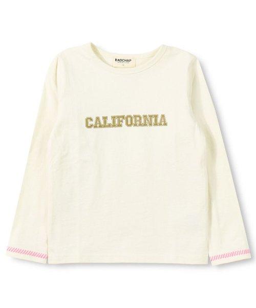 RADCHAP(ラッドチャップ)/ロゴ長袖Tシャツ/429105057