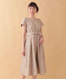 Jocomomola/Fruto シャンタン 刺繍ワンピース/501706176