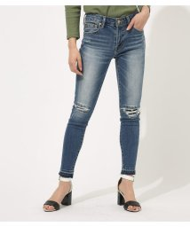 AZUL by moussy/REPAIR DENIM SKINNY/501706346