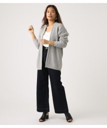 AZUL by moussy/LOWGAUGE LONG KNIT CARDIGAN/501706347