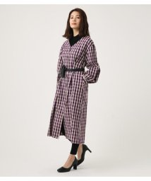 AZUL by moussy/VOLUME SLEEVE SFLARE ONEPIECE/501706353