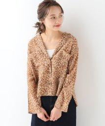 SLOBE IENA/TICCA Leopard ショートシャツ/501724987