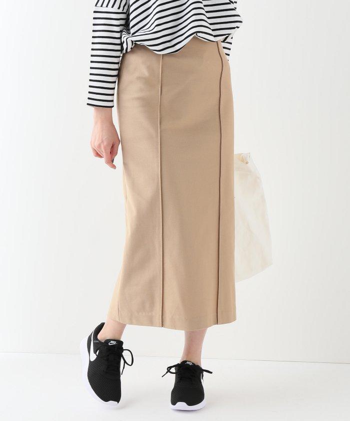 TICCA ピンタックタイトスカート