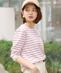 REAL STYLE/シンプルボーダーカットソー/501756168