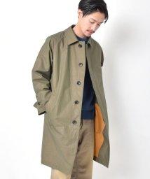 SHIPS MEN/SC: 小松マテーレ AQUADIMA ステンカラーコート/501773295