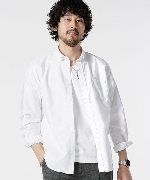 nano・universe(ナノ・ユニバース)/ONE NIGHT DRY OX BDシャツ/6689120026