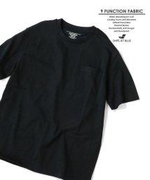 SHIPS JET BLUE/SHIPS JET BLUE: 9FUNCTION【接触冷感・抗菌防臭etc..】天竺ポケットTシャツ/501796280