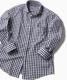 SHIPS MEN/SC: レノクロス ストライプ セミワイドカラーシャツ/501816452